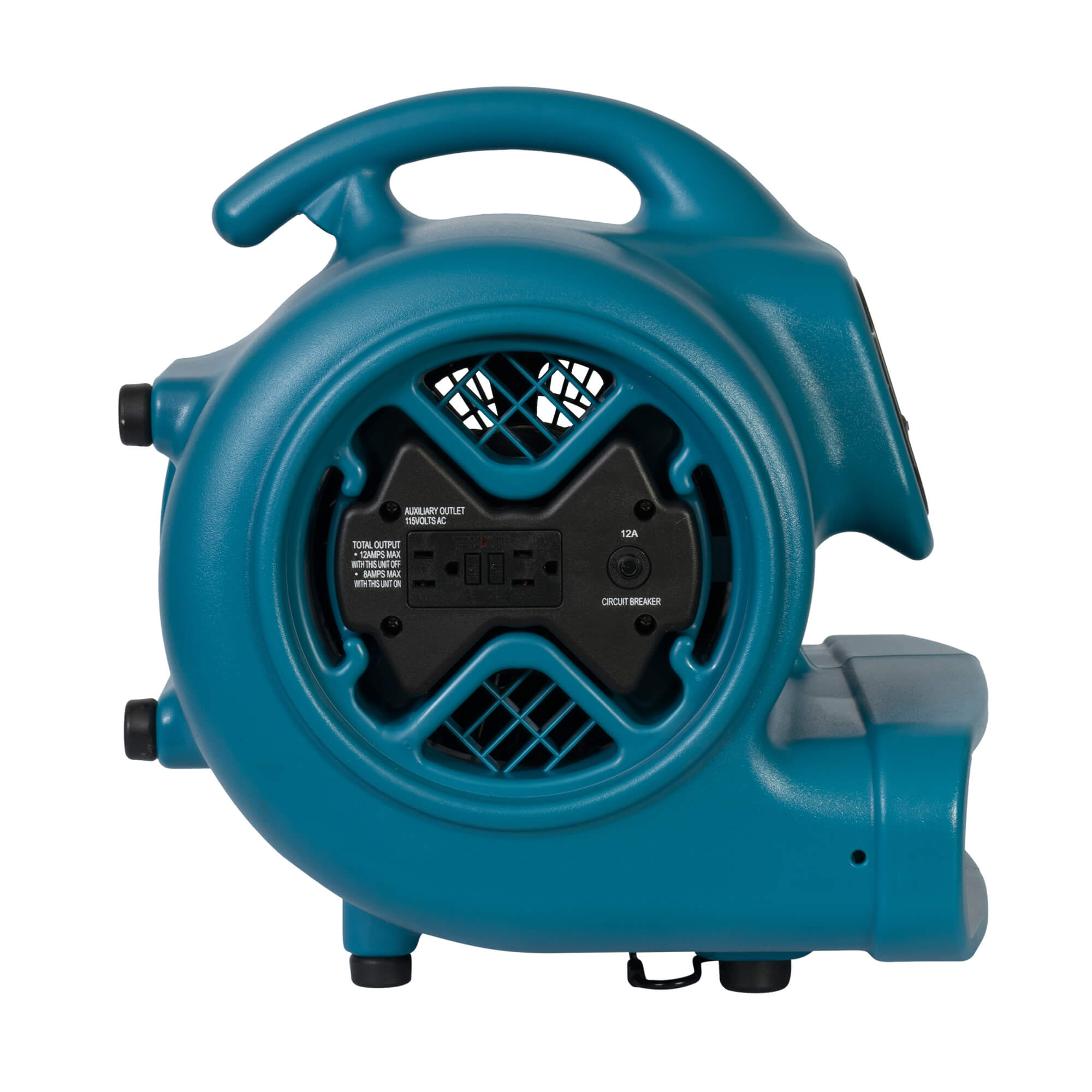 Xpower X 600a 1 3 Hp Air Mover Dryer Floor Fan Blower With Build Power Max 400 Wiring Diagram In Gfci Outlets