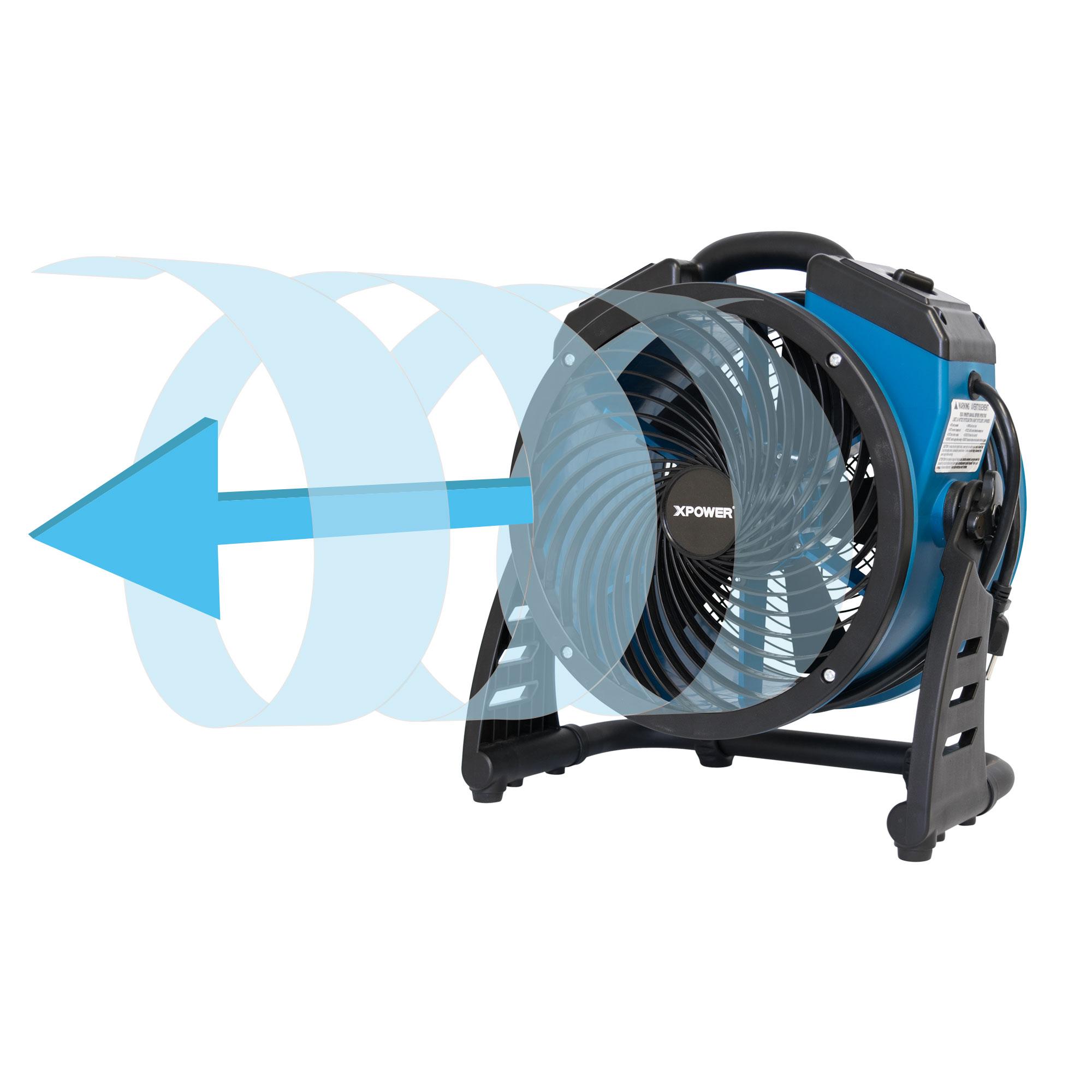 Axial Air Mover : Xpower p ar industrial axial air mover