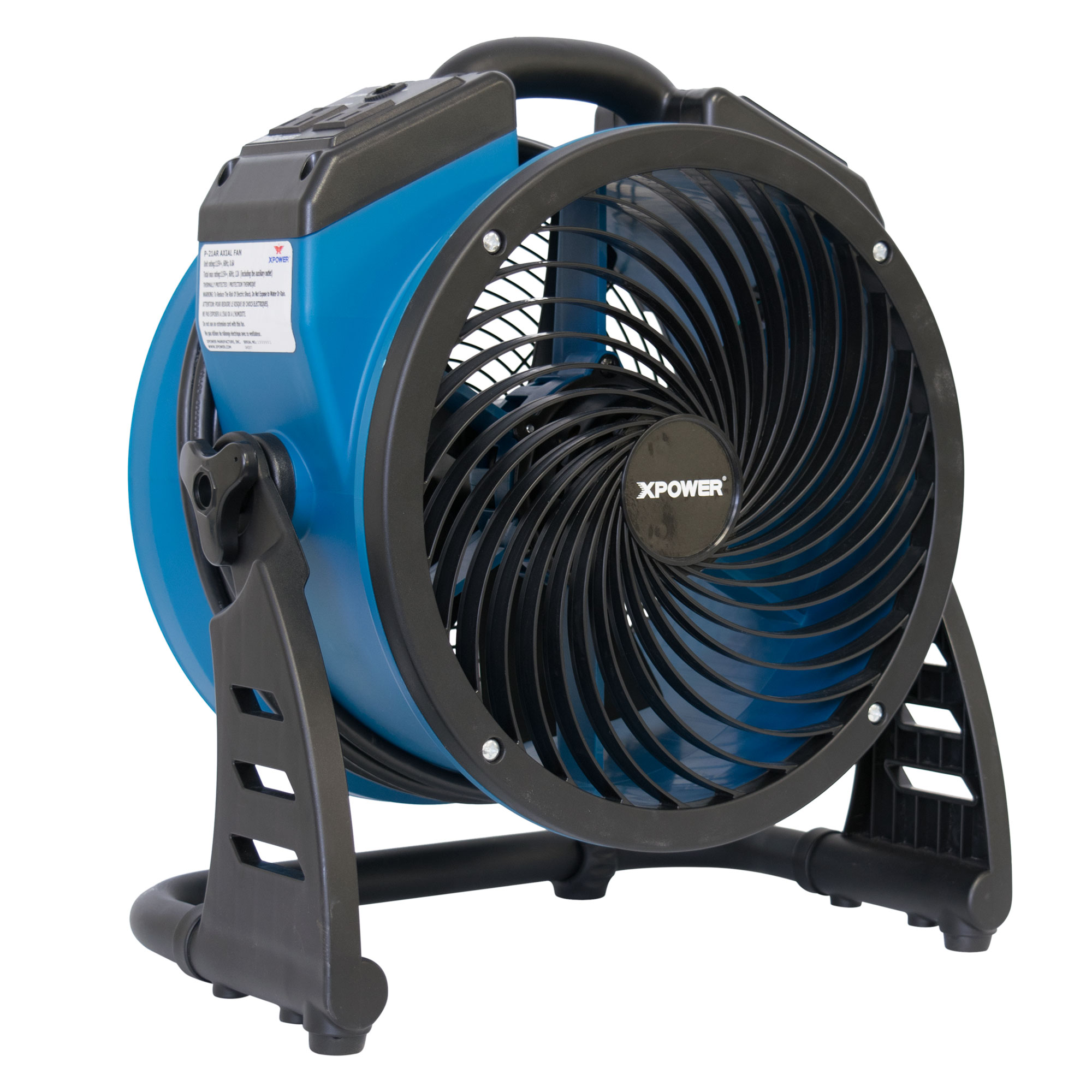 Axial Air Mover : Xpower p ar industrial axial air mover